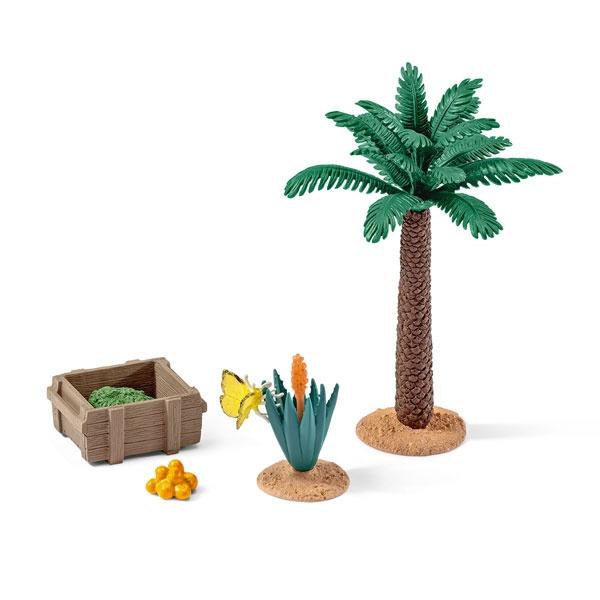 Schleich Pflanzen und Futterset 42277