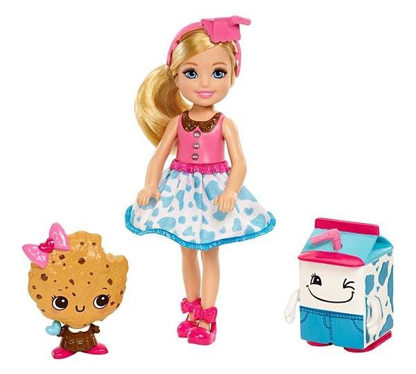Barbie Chelsea und 2 Sandwich-Freunde