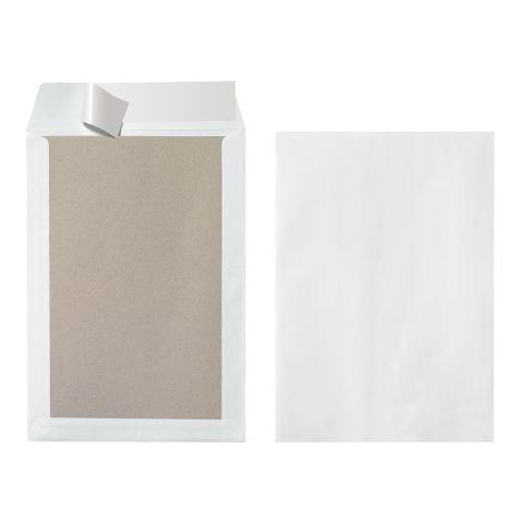 Herlitz Versandtasche B4 mit Papprückwand 3 Stück Packung