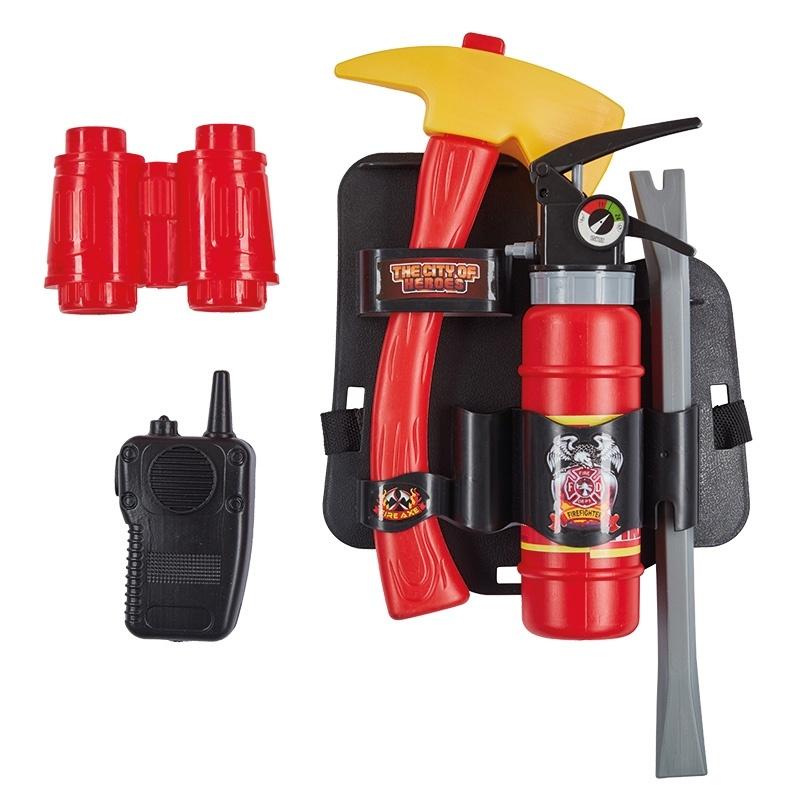 Kostüm-Zubehör Feuerwehr Set