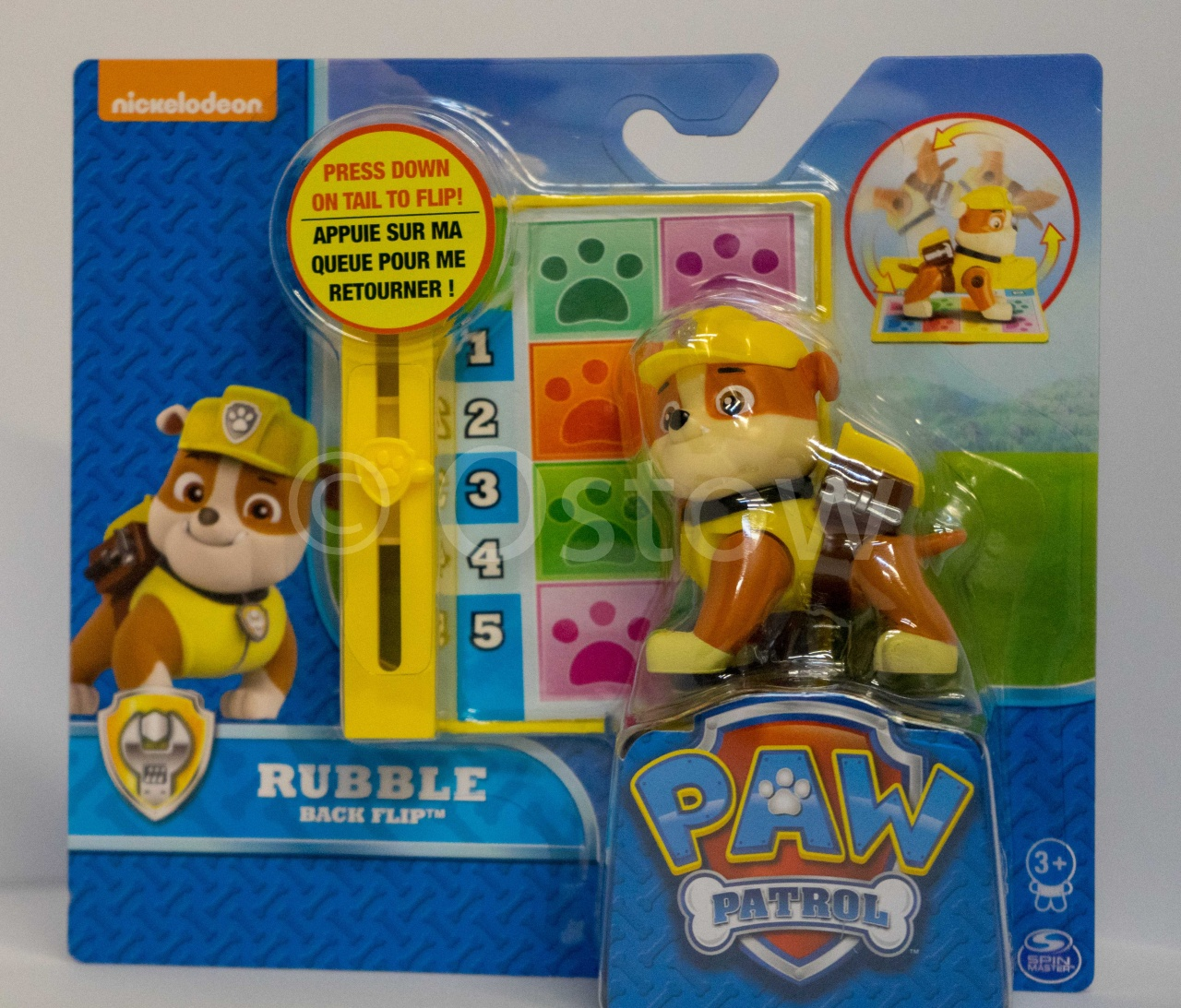 Paw Patrol Action Pack Pups Deluxe Figur Rubble