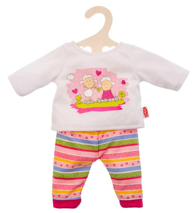 Heless Puppen Pyjama  mit Schäfchen 35 - 45 cm