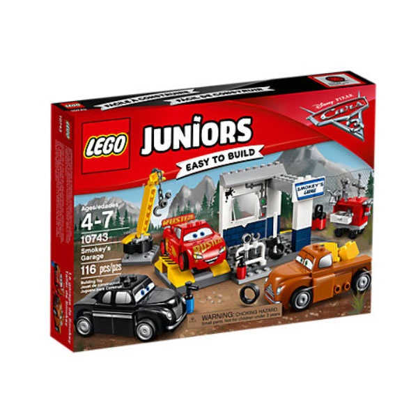 Lego 10743 Juniors Cars Crazy 8 Smokeys Garage