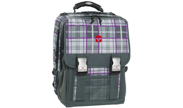 Take it Easy Kilt grau-lila Rucksack London
