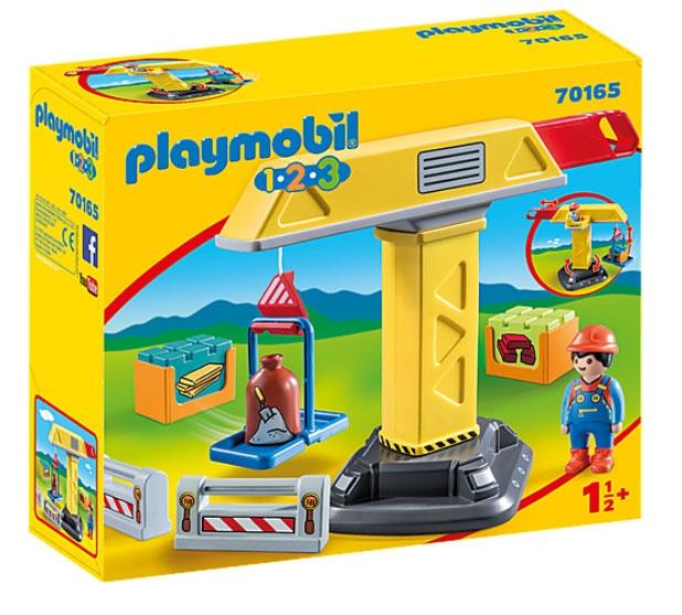 Playmobil 70165 1.2.3 Baukran