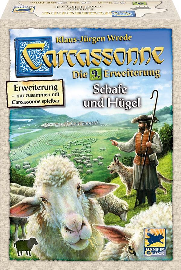 Carcassonne Schafe und Hügel 9. Erw.