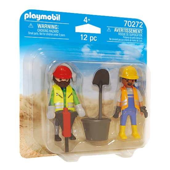 Playmobil 70272 Duo Pack Bauarbeiter