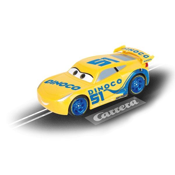 Carrera First Electric Slot Car Disney Cars Dinoco Cruz