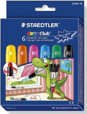 Staedtler Noris Club Gelmalstifte Effect Colors Basic 6 St