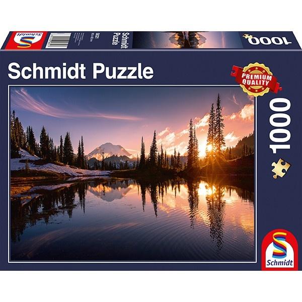 Schmidt Spiele Puzzle Bergkulisse 1000 Teile