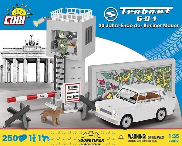 Cobi Auto Trabant 601 30 Jahre Ende der Berliner Mauer