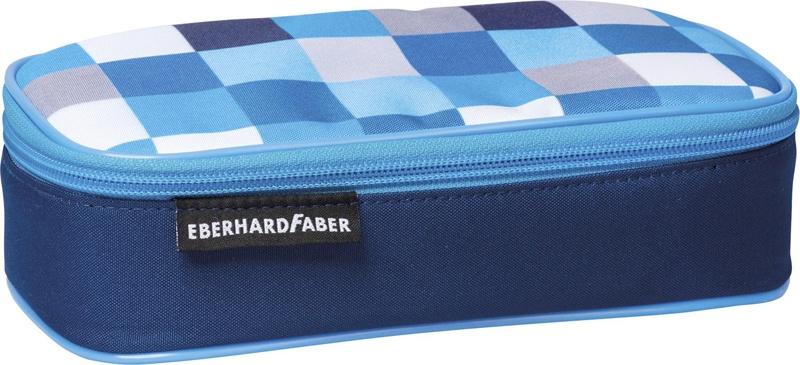 Faber Jumbo Schlamperbox blau, leer