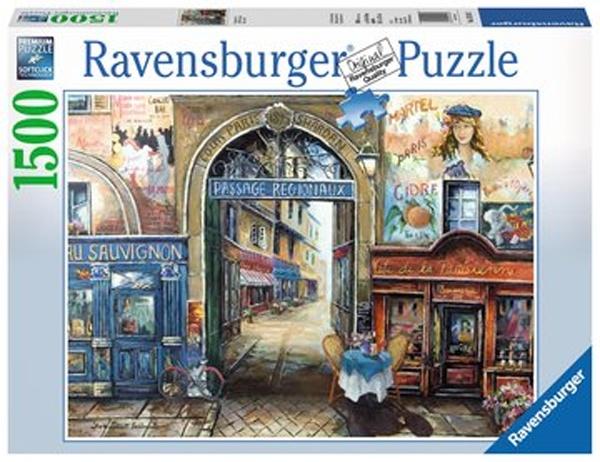 Ravensburger Puzzle Passage to Paris