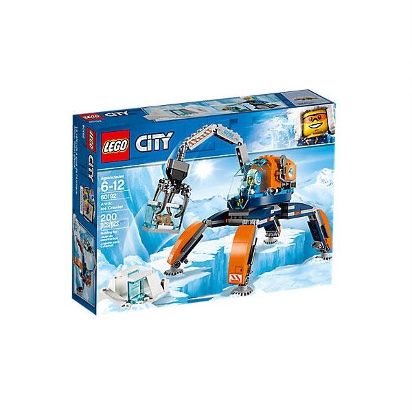 Lego City 60192 Arktis-Eiskran auf Stelzen