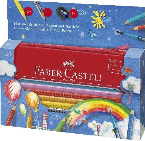Faber Castell Farbstift COLOUR GRIP Malset  Ballon
