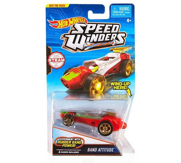 Hot Wheels Speed Winders CarTrack Band Attitude