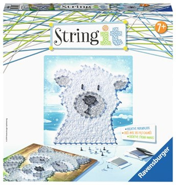 Ravensburger Bastelset String it Midi Cute Animals