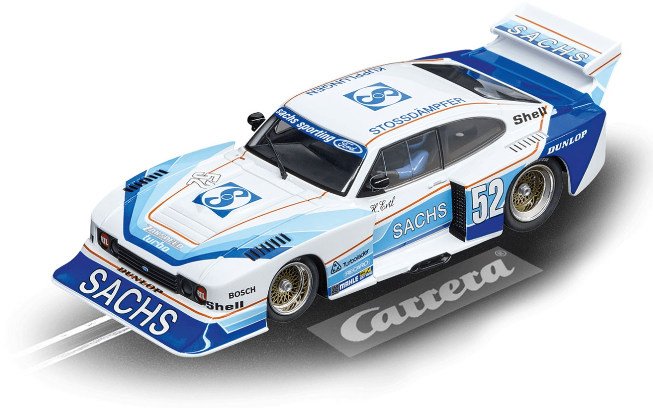 Carrera Digital 132 Ford Capri Zakspeed Turbo Sachs Sporting