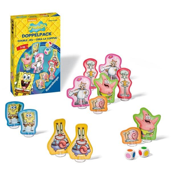 Doppelpack SpongeBob Mitbringspiel von Ravensburger