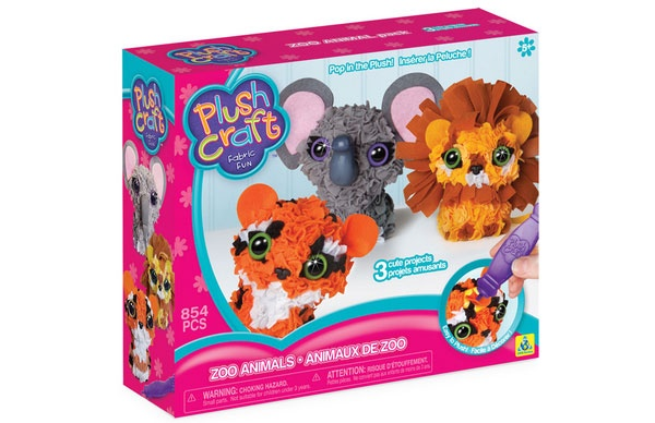 PlushCraft 3D Minis Zoo Animals