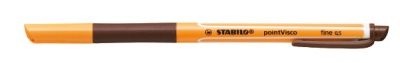 Stabilo Gelschreiber pointVisco 0,5mm braun