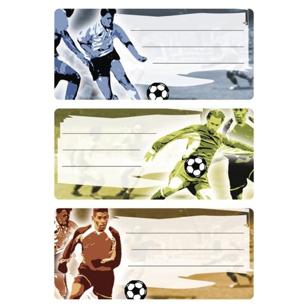 Herma Buch-Etiketten Fußball