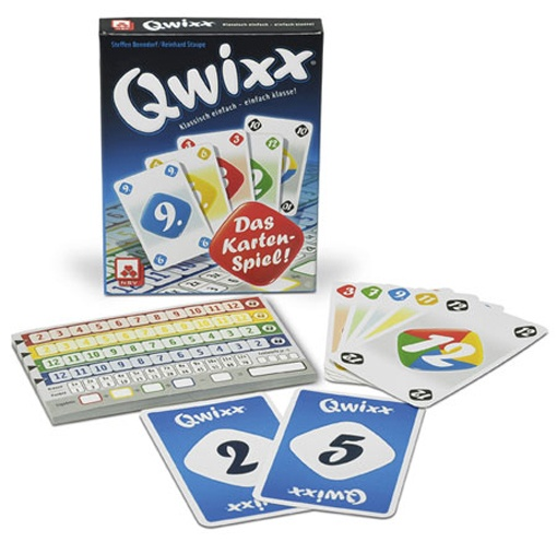 Nürnberger Spielkarten Qwixx Kartenspiel