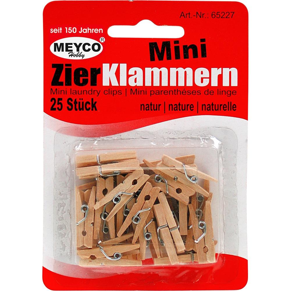 Mini-Klammern 24 Stück