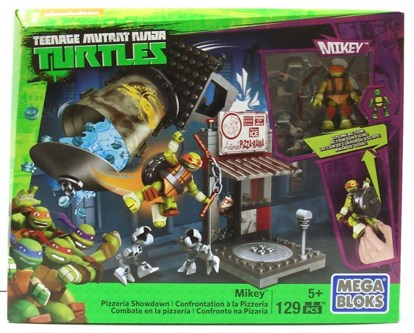 Mega Bloks Turtles Mikey Pizzeria Showdown