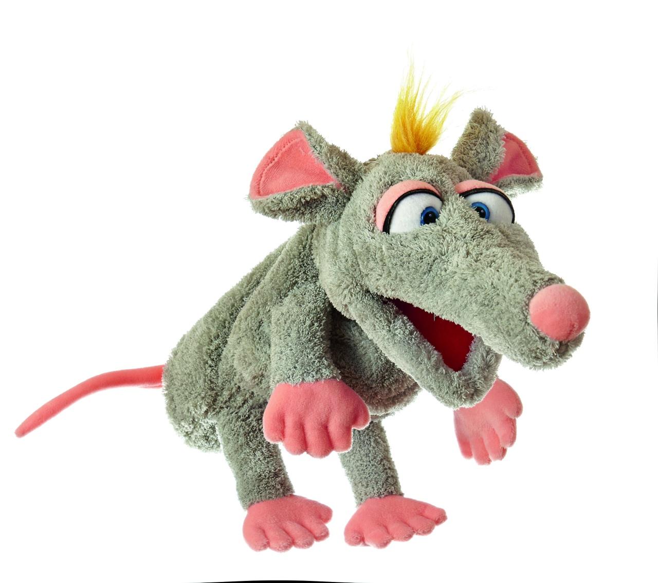 Living Puppets W651 Schnurzpiepe die Ratte Hamdpuppe
