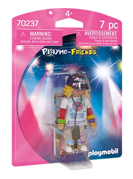 Playmobil 70237 Playmo-Friends Rapperin