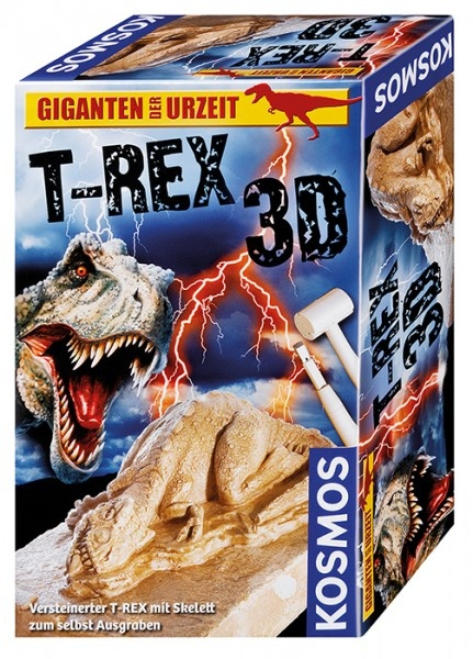 T-REX 3D Ausgrabung Giganten der Urzeit Experimentierkasten