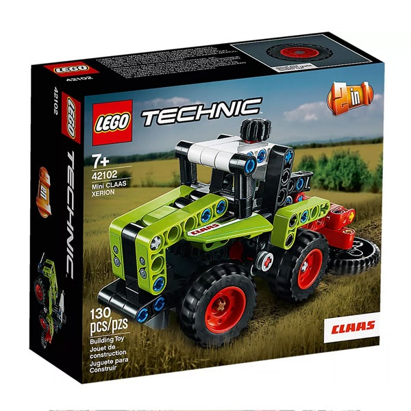Lego Technic 42102 Mini CLAAS XERIONA