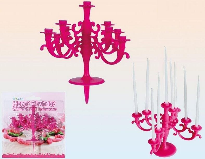 Kerzenständer pink