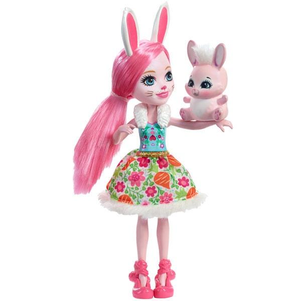 EnchanTimals Puppe Hasenmädchen Bree Bunny