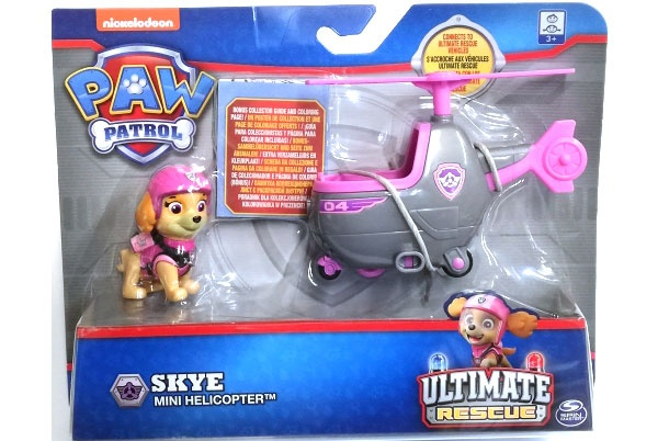 Paw Patrol Ultimative Rescue Vehicle Skye Mini Helicopter