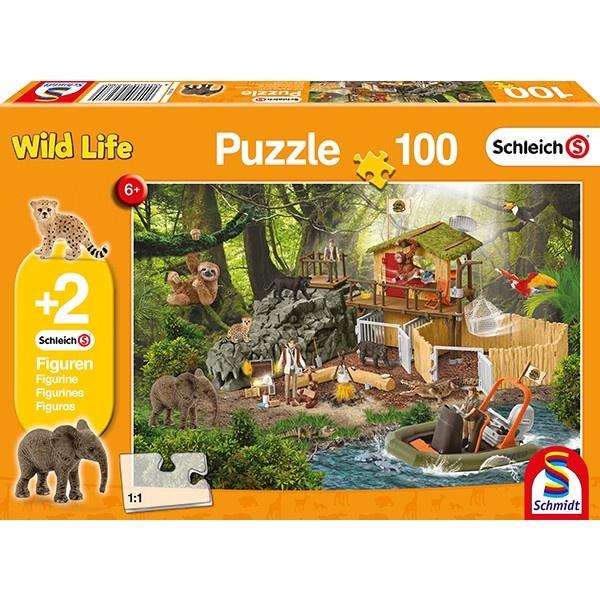 Schmidt Spiele Puzzle Forschungsstation Croco 100 Teile