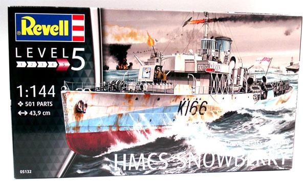 Revell 05132 HMCS Snowberry FLOWER Claas Corvette 1:144