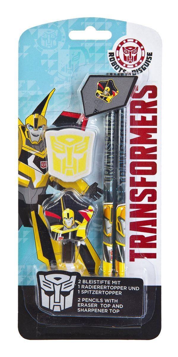 Transformers Bleistifte mit Radierer 2Stck.