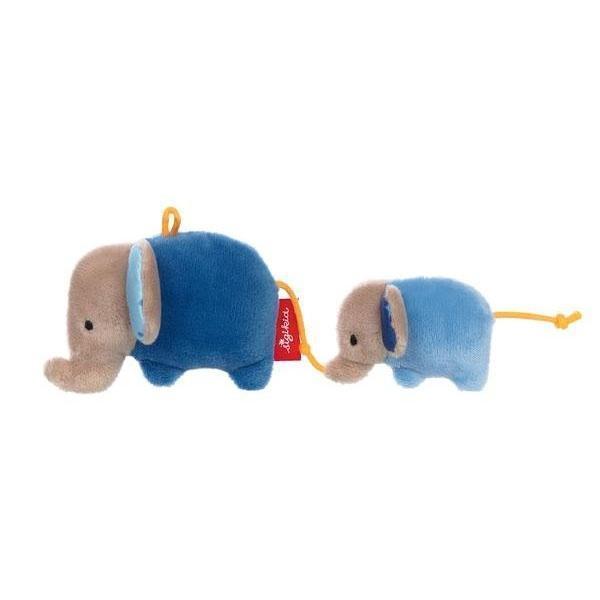 Sigikid Rassel Elefanten blau