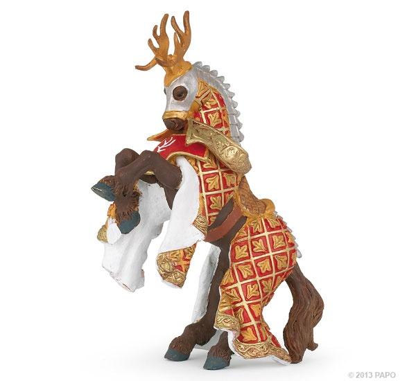 Papo 39912 Pferd des Waffenmeisters Hirsch