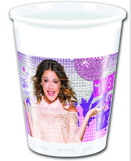 Violetta Gold Edition Partybecher 200 ml