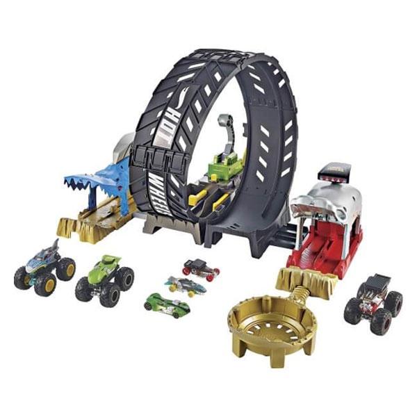 Hot Wheels Monster Trucks Looping-Challenge Spielset