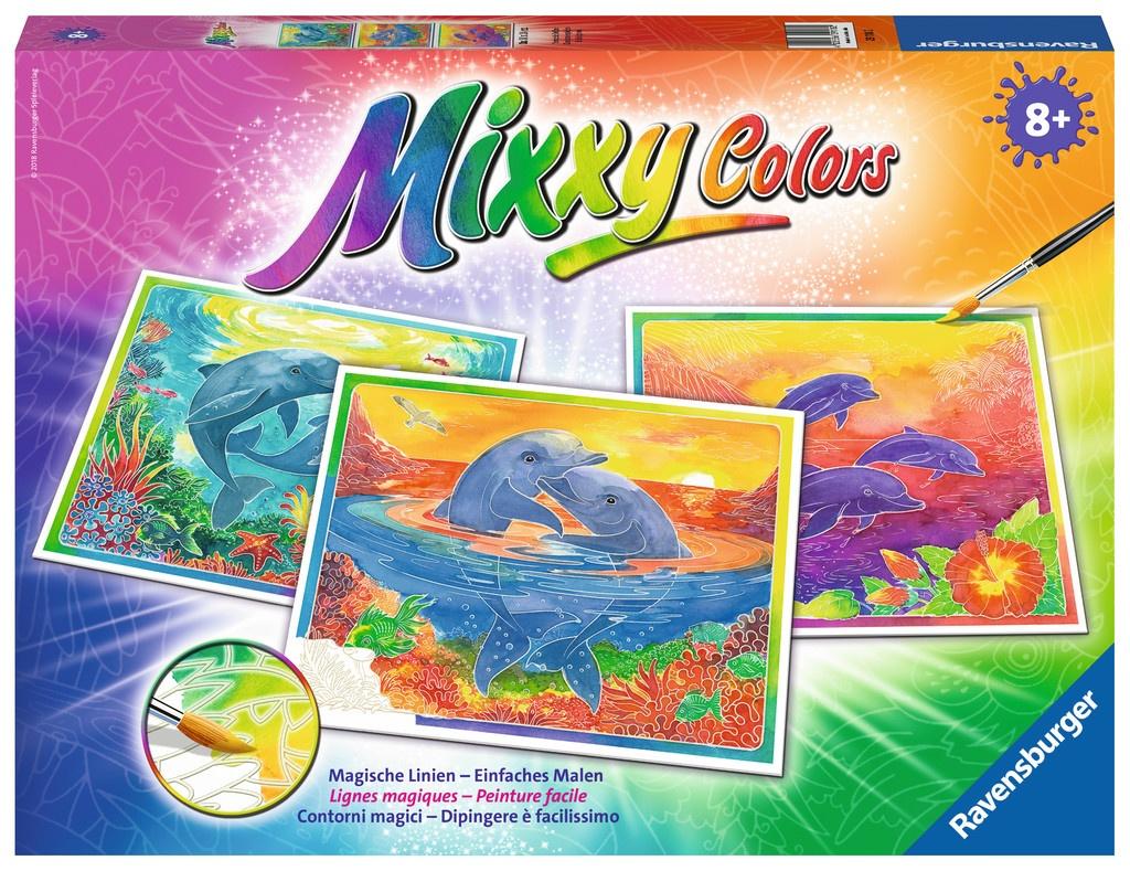 Ravensburger Mixxy Colors Verspielte Delfine