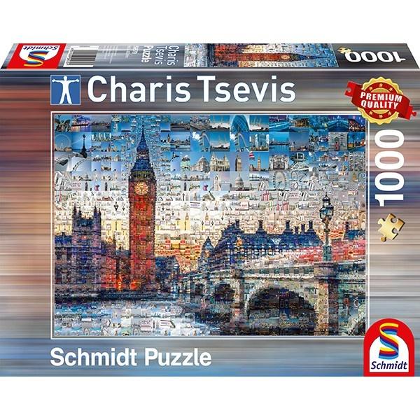 Schmidt Spiele Puzzle Charis Tsevis London 1000 Teile