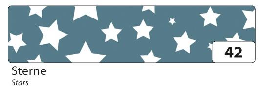 Folia Washi Tape Klebeband Sterne