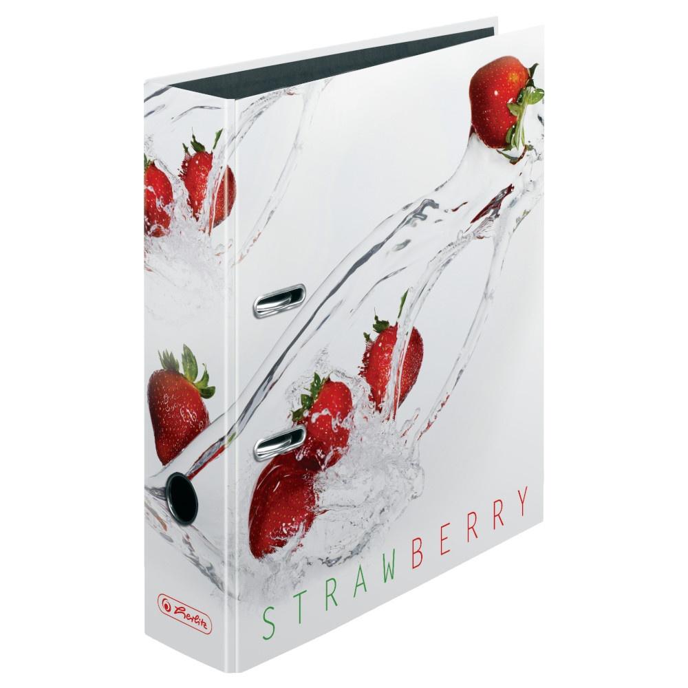 Ordner A4/8cm Fresh Fruit Erdbeere