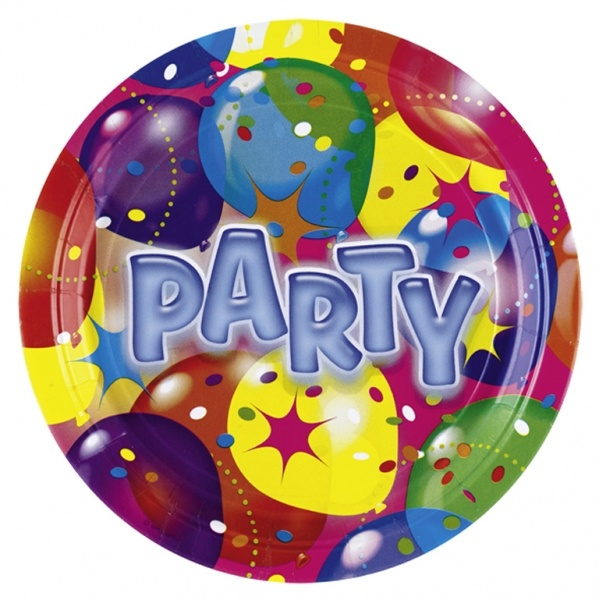 Partyteller Ballon Party