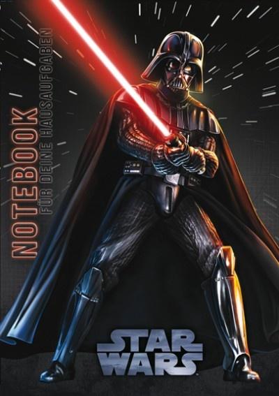 Hausaufgabenheft Star Wars