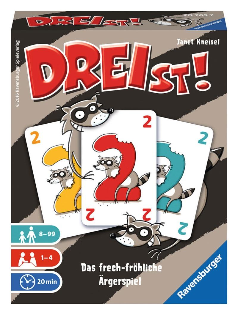 Ravensburger Kartenspiel DREIst